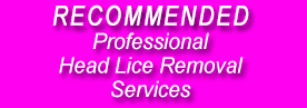 recommended head lice removal services